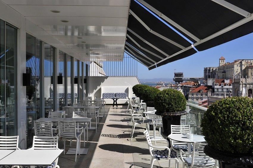 Rooftop-Bar Lissabon, Hotel Altis Avenida