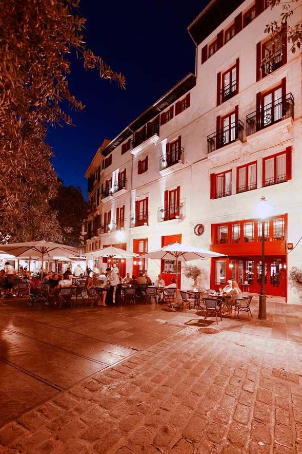 Hotel Cort in Palma de Mallorca im Winter