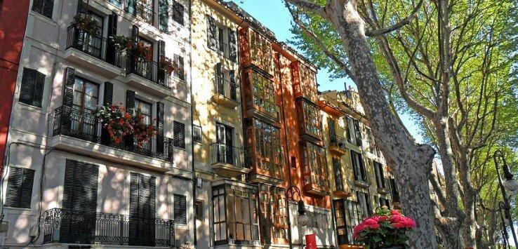 Palma de Mallorca Paseo Born