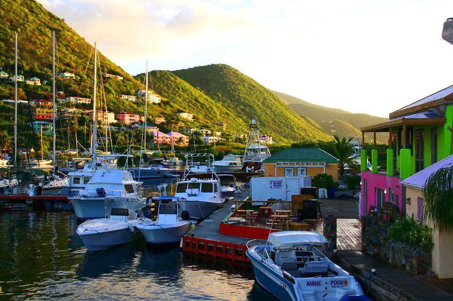 Soper's Hole Marina - Road Town - Tortola - Britische Jungferninseln