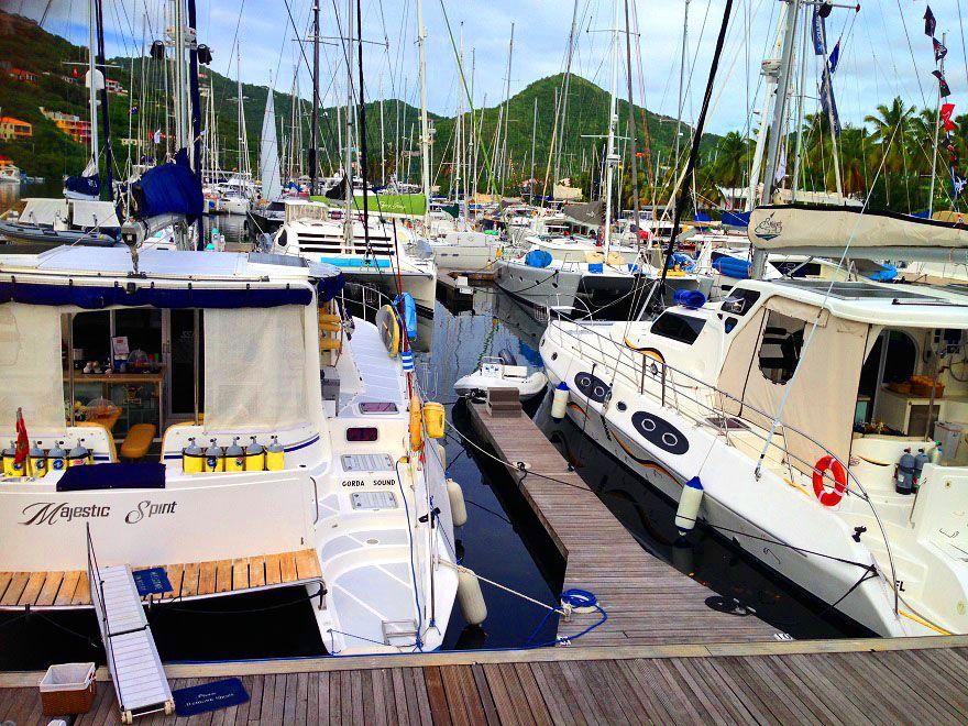 Britische Jungferninseln - Yacht Marina