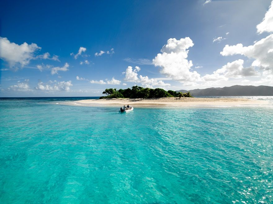 Sandy Split Britische Jungferninseln