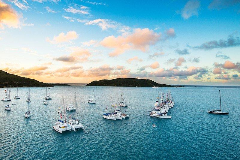 Britische Jungferninseln Segeln