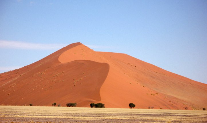 Namibia Highlights - Namib Wüste, Düne 45
