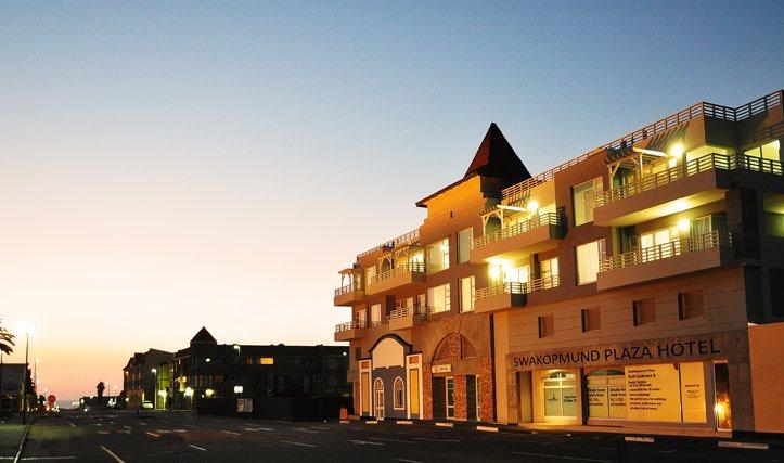 Namibia Highlights - Swakopmund Plaza Hotel
