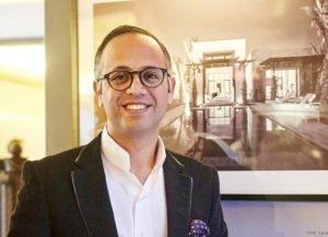 Portrait Hotelier Amine Bouhaba redet über Luxus Riads Marrakesch