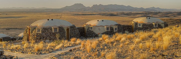 Namibia Highlights, Hotels in der Wüste: Rostock Ritz Desert Lodge Bungalow