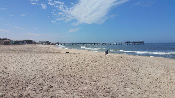 Namibia Highlights - Der Strand von Swakopmund