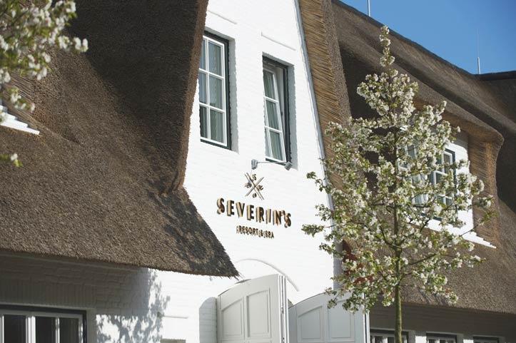 Severins Sylt Logo über Eingang