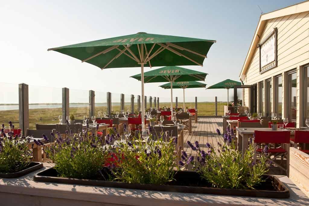 St. Peter Ording - Restaurant Strandhütte