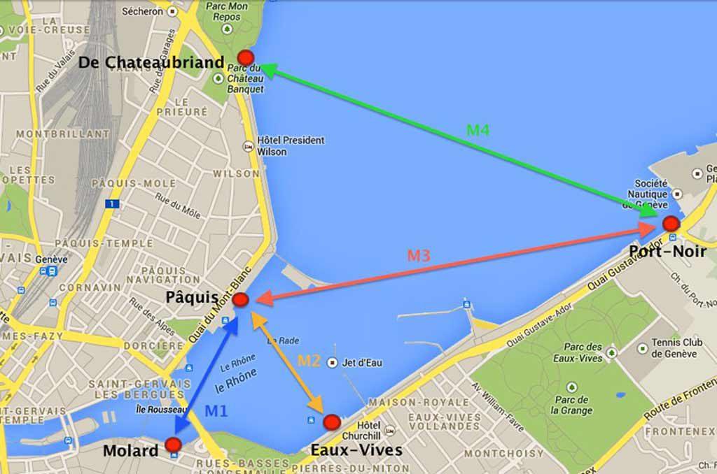 Genf Stadtplan