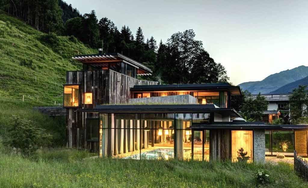 Designhotel salzburger land das wiesergut brittneys luxus for Design hotel belgien