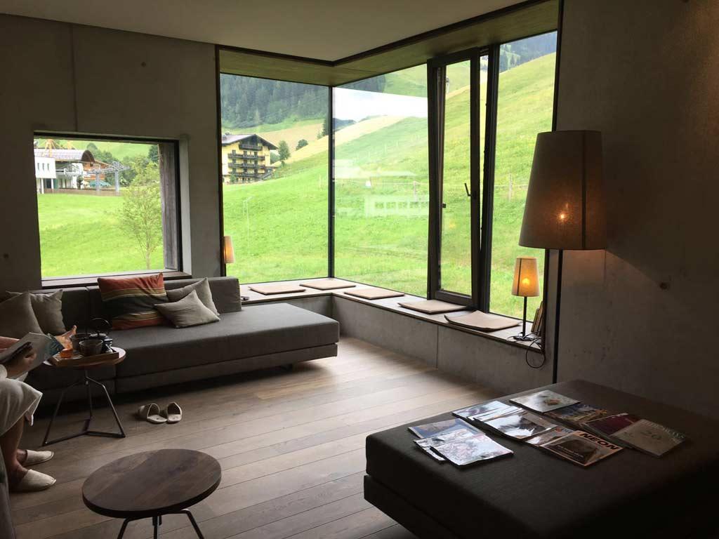 Designhotel salzburger land das wiesergut brittneys luxus for Designhotel wiesergut