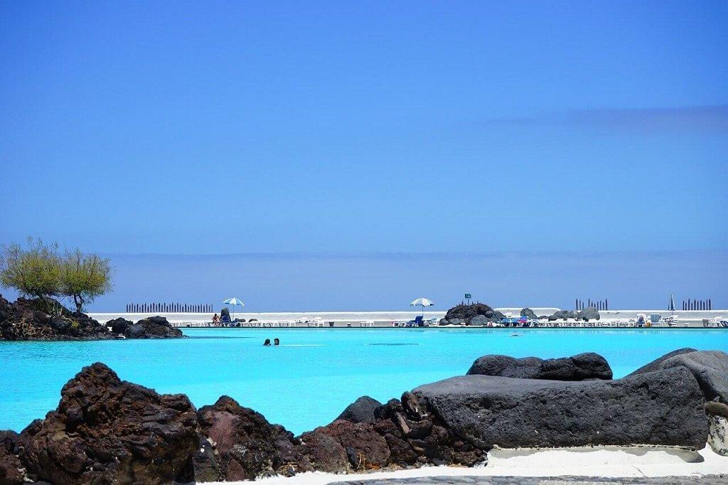 Lago Martianez-Meerwasserschwimmbad Tenriffa