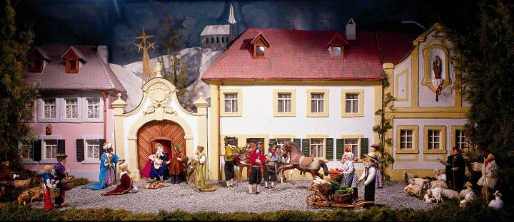 Bamberg Krippenstadt Weihnachtsmarkt Franken