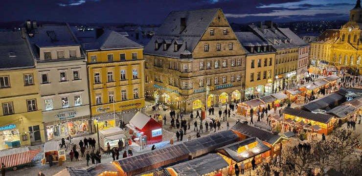 Weihnachtsmarkt Franken Bayreuth