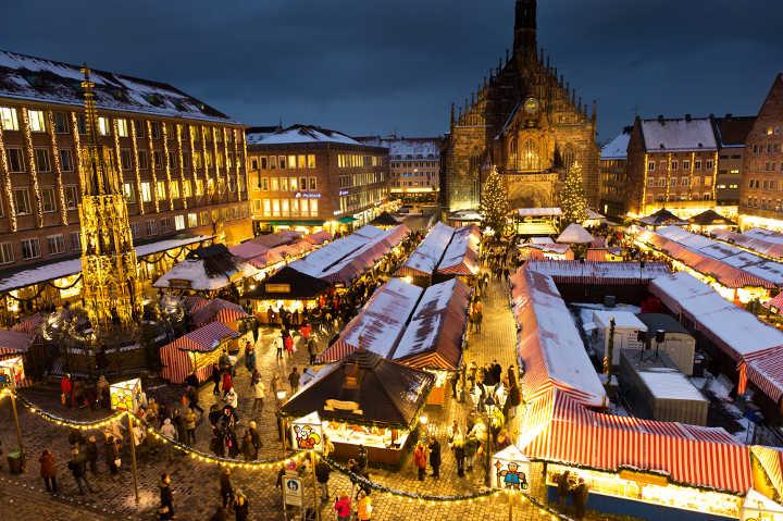 Weihnachtsmarkt Franken Nürnberg