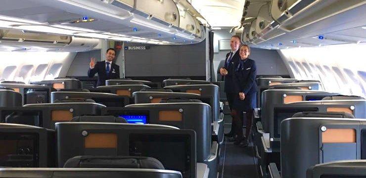 SAS Business Class nach Miami im A 330