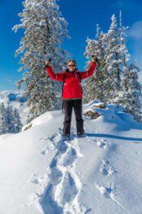 schneeschuhwandern-tegernsee im Winter
