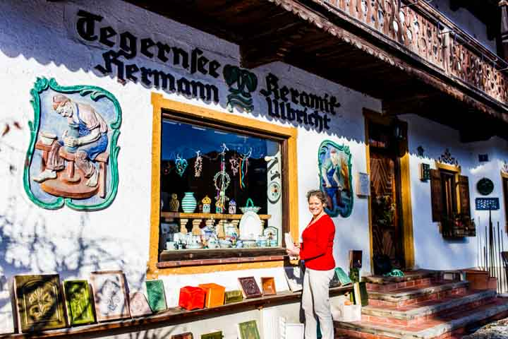 Shopping am Tegernsee Tegernseer Keramik Hermann