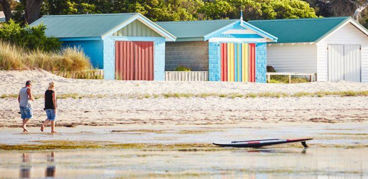 Asuflug von Melbourne an den Strand