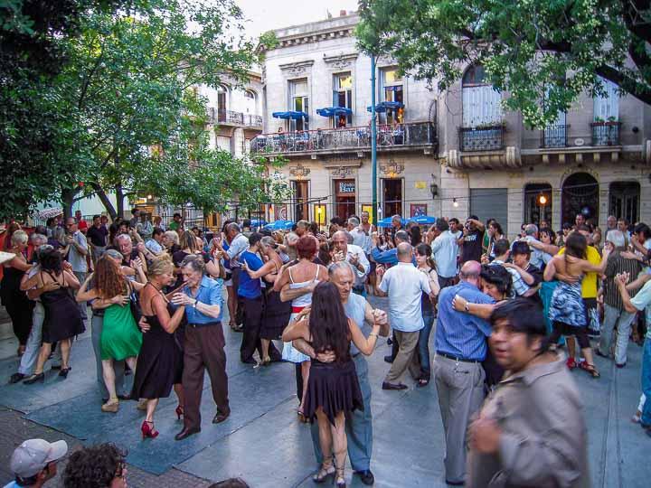San Telmo Buenos Aires Tango