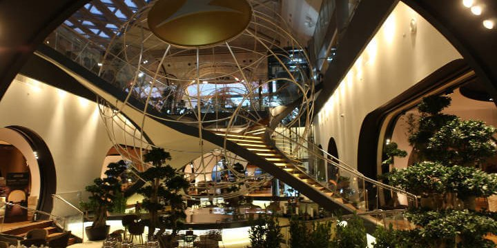 CIP Lounge Turkish Airlines Foyer