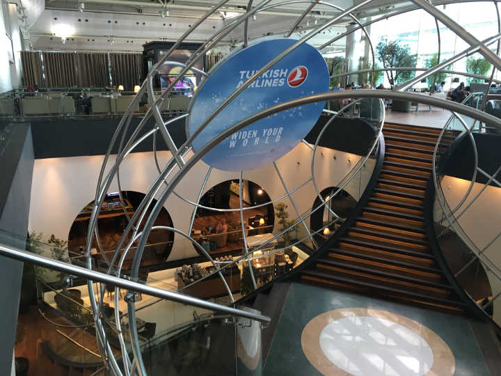 CIP Lounge Turkish Airlines