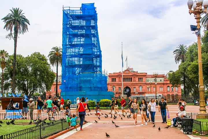 Buenos Aires Präsidentenpalast