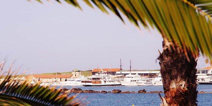 Paphos Zypern Hafen