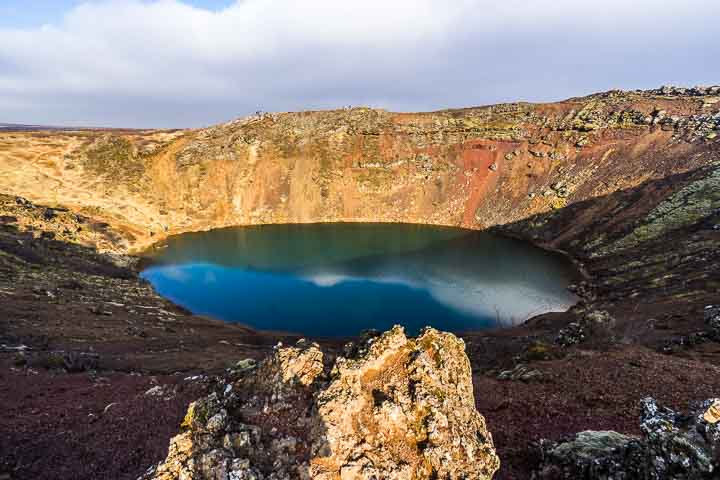 Kratersee-Kerid-Island