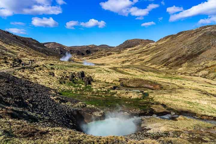 Reykjadaladur-Hochtal Island