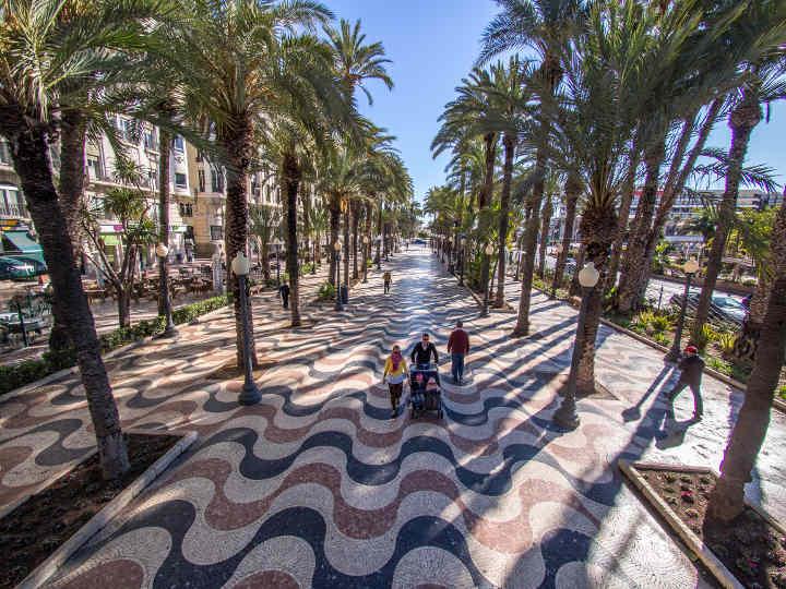 Alicante Tipps Esplanada de Espana