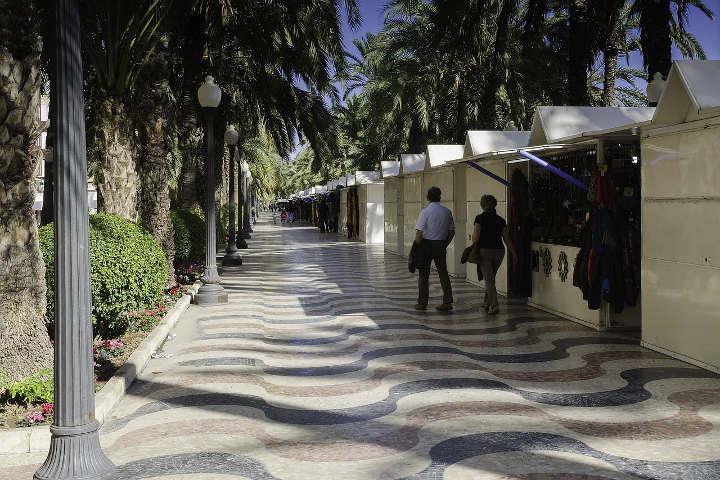 Alicante Reisetipps Esplanada Espana