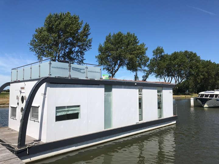 Luxus Hausboot Flandern