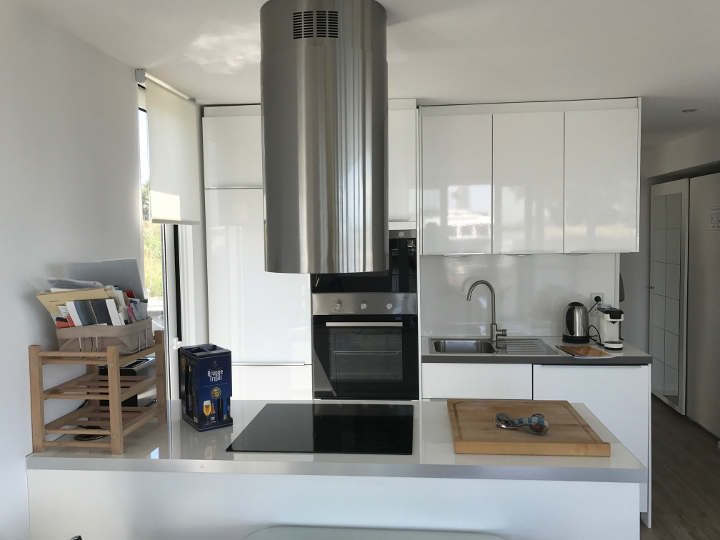 Küche Luxus Hausboot