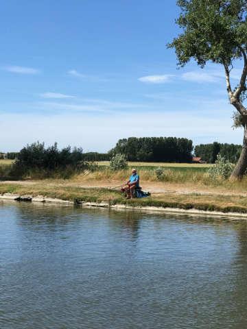 Hausboot Flandern Angeln