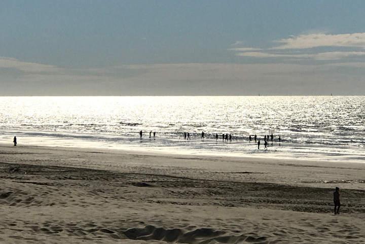 Nieuwpoort Strand Belgien