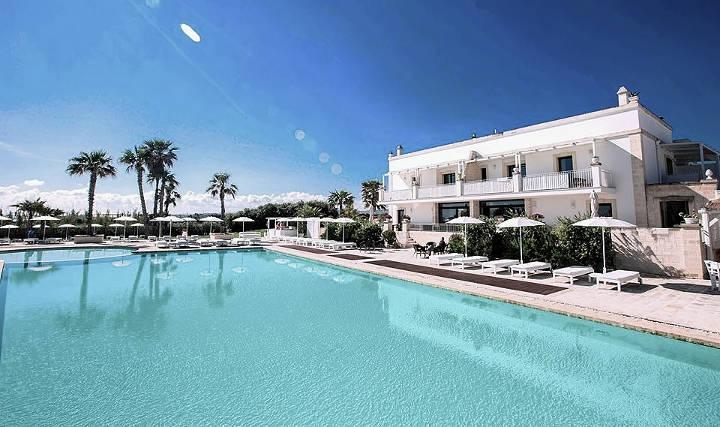Stadtstrände in Europa Hotel Canne Bianche, Bari