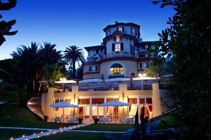 Stadtstrände Europa Hoteltipp Genua, Villa Pagoda