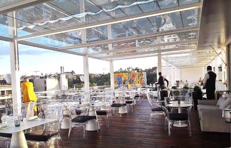 Hotel Tivoli Lissabon Dachterrasse