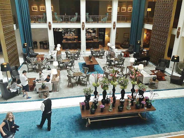 Hotel Tivoli Lissabon Lobby