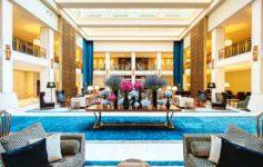 Lobby des Tivoli Hotel in Lissabon