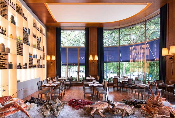 Fischrestaurant im Hotel Lissabon