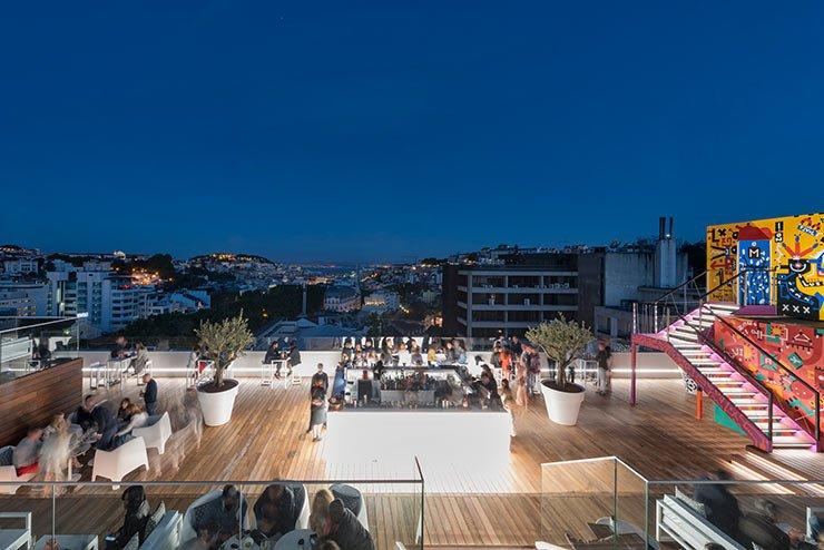 Hotel Tivoli Lissabon, Skybar
