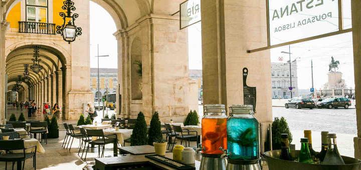 Lissabon Sehenswürdigkeit Platz