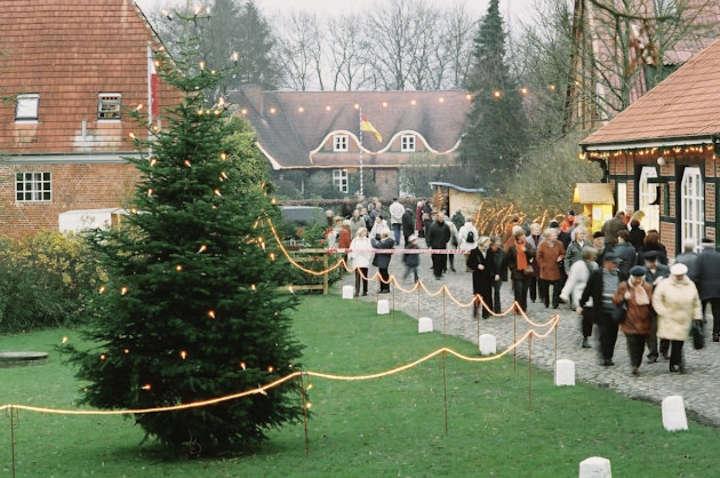 Weihnachtsmarkt Hamburg und Umgebung: Gut Basthorst