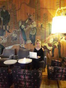 Lounge im Miramonte Hotel in Gastein