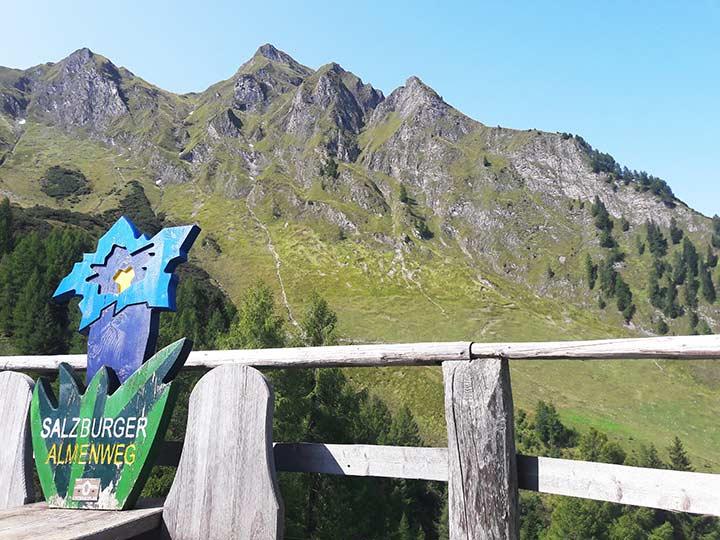 Der Salzburger Almenweg führt auch durch Gastein