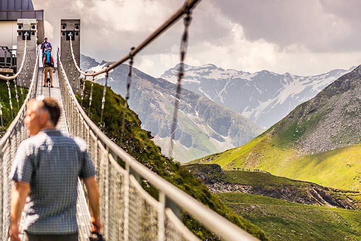 Gastein Hängebrücke am Stubnerkogel